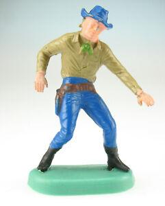 ALTFIGUR - Cowboy mit Halfter - Bodenplatte mit Defekt - 1975 - Ü-Ei Figur