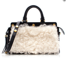 e8c9feaec0f9 NWT MULBERRY chester shearling black leather shoulder handbag £1790 SOLD OUT