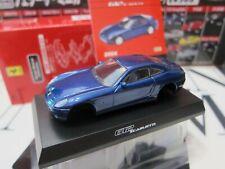 Kyosho - Ferrari Minicar Collection 2 - 612 Scaglietti - Blue 1/64 Mini Car D21
