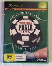 Xbox 360 Game NEW World Series of Poker Official Game