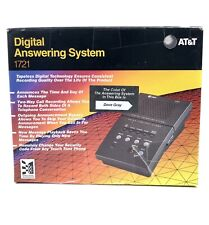 AT&TDigital Answering Machine System 1721 Dove Gray 1993