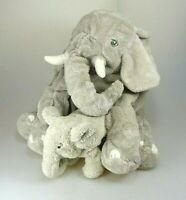 IKEA KLAPPAR Elefant mit Baby ca. 30 & 12 cm
