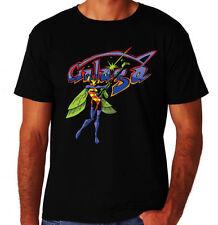 Galaga 80's Arcade Game Logo Alien Bug Costume Party Gamer Console Geek T-Shirt