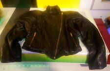 Leather Jacket Robert Krief women's size Med good shape extremely soft leather