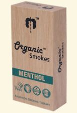ORGANIC SMOKES herbal cigarrettes (menthol)