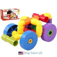 Tube Pipeline Building Blocks DIY Learning & Educational Toys For Kids 72pcs
