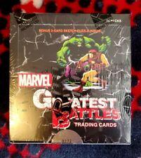 2013 Rittenhouse Marvel Greatest Battles [Factory Sealed Box, 0272 Of 6000]