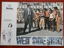 4 LOBBY CARD WEST SIDE STORY