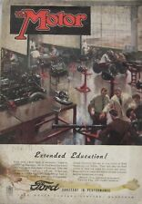 Motor magazine 17 December 1947 featuring Daimler Straight-eight road test