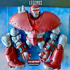 CRIMSON DYNAMO BAF Marvel Legends Head Torso R L Arm Leg Left Winter Guard UPICK