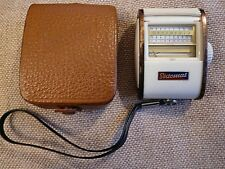 Vintage Gossen SIXTOMAT Color Finder, Light Meter in Original Leather Case Works