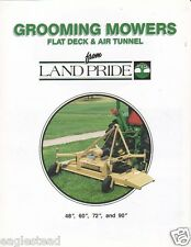 Farm Equipment Brochure - Land Pride - Mowers & Product Overview 2 items (F2866)