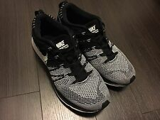 Rare Nike Flyknit Trainer Black White Kanye West Yeezy Men's Size 7