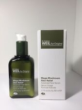 Origins Dr. Weils MEGA-MUSHROOM Skin Relief Advanced Face Serum 1.7 oz/50 ml NIB