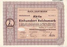 Sächsische Maschinenfabrik vorm. Rich. Hartmann AG  1935 Chemnitz