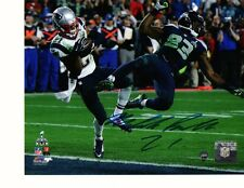 Malcolm Butler New England Patriots Autographed Signed 16x20 photo w-coa Steiner