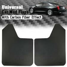 Universal For Car Pickup Mud Flaps Splash Guards Mudguards Carbon Fiber Effect