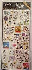 Peanuts Snoopy Stickers Gold Outline