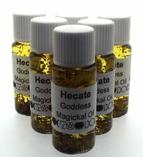 Hecate Goddess Herbal Infused Botanical Incense Oil