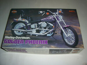 HARLEY-DAVIDSON GOLDEN PHOENIX 1/12 scale model - USED