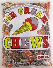 Albert's Ice Cream Chews 240 Count Bag Candy Bulk Candies Chewy Taffy Alberts