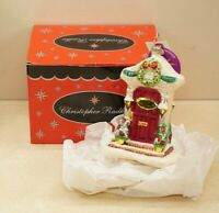 Radko New From Our House to Yours Blown Glass Ornament Original Box + Tags