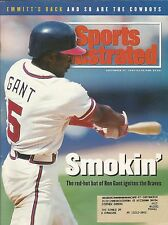 ATLANTA BRAVES RON GANT 1993 SPORTS ILLUSTRATED 2X ALL STAR 321 HOME RUNS REDS