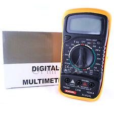 Multímetro Téster XL830L Digital con Funda Goma Protectora a1261