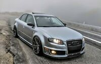 Performance Splitter for Audi RS4 B7 Front Bumper Lip / Cup Skirt / Chin Valance