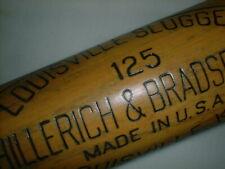 "Old BABE RUTH Bat 34"" Vintage LOUISVILLE SLUGGER 125 Ny Yankees REG US PAT OFF"