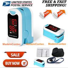 LED Display Fingertip Pulse Oximeter SPO2 Pulse Rate Monitor CMS50M USA FDA CE