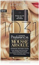 Loreal Superior Preference Mousse Absolute #1031 Lightest Gold. Blond Hair Color