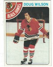 1978-79 Topps #168 Doug Wilson Chicago Black Hawks NHL Hockey