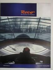 Roco Katalog Neuheiten 2010 HO, HOe, TT  mit 146 Seiten, neu, selten