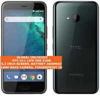 "HTC U11 LIFE 3gb/32gb Snapdragon 630 16mp Camera 5.2"" Android 9.0 4g Smartphone"