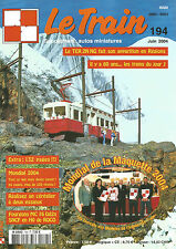 LE TRAIN N°194 TER 2N NG / MONDIAL MAQUETTE 2004 / CEREALIER A 2 ESSIEUX / MC 76