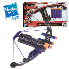 MARVEL AVENGERS HASBRO NERF HAWKEYE LONGSHOT BOW WITH 6 SOFT DART BLASTER TOY