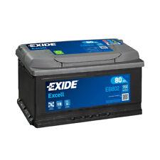 Batterie Exide EB802 12v 80AH 700A