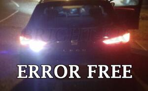 FOR SEAT LEON MK3 2013+ XENON COOL WHITE REVERSE SMD LED LIGHT BULBS UPGRADE