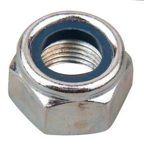 M7 Nyloc Nylon Hex Nuts High Tensile 8.8