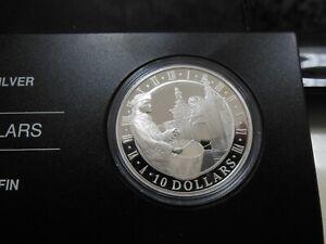 2006 Canada $10 Fortress of Louisbourg .9999 Fine Silver Proof-OMP/COA