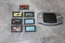 Nintendo Game Boy Advance mit 7 Spielen