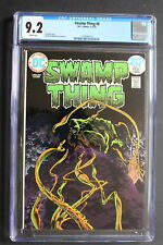 SWAMP THING #8 WRIGHTSON Len Wein 1974 Lurker in Tunnel 13 Movies TV JLD CGC 9.2