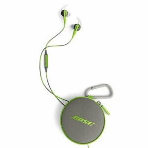 Bose SoundSport in-Ear Headphones Earphones with Volume Cont. Green - ANDROID