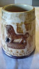 More details for duke of wellington battle of waterloo stoneware half pint mug probably 19th cent