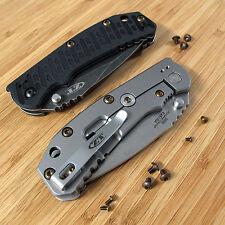 Zero Tolerance ZT0550 550 0550 ZT Knife 10PC Titanium Ti Torx Screws Set BRONZE
