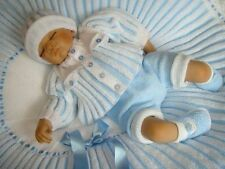 """""""One for the BOYS"""" (or Girls) 4 Piece Pleated Set. (Knitting Instructions.) #20"""