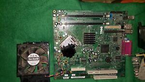 Dell Optiplex gx520 desktop motherboard, CPU, power supply, heat sink, cooling