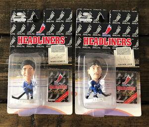 Headliners 1996 Mario Lemieux & Jaromir Jagr Figure Pittsburgh Penguins NHL