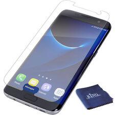 Impact Proof Nano LCD Screen Protector Samsung Galaxy S7 Edge + Microfiber Cloth
